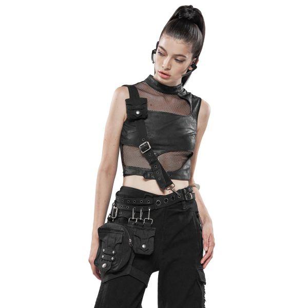 Crossover Bodybag und Gürteltasche im Harness Look