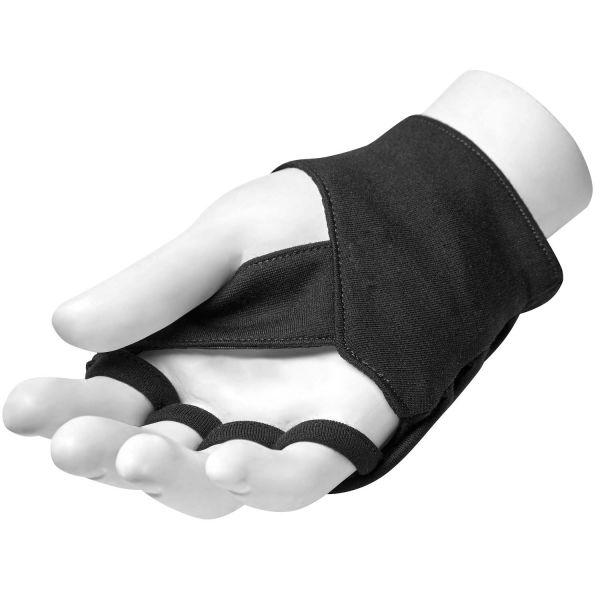 Handschuhe in Wickeloptik mit Zipper im Biker Look