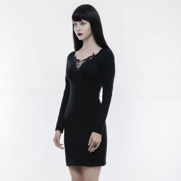 Daily Goth Minikleid im Dark Romantic Style