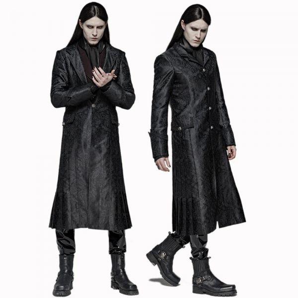 Brokat Mantel im Dark Lord Style