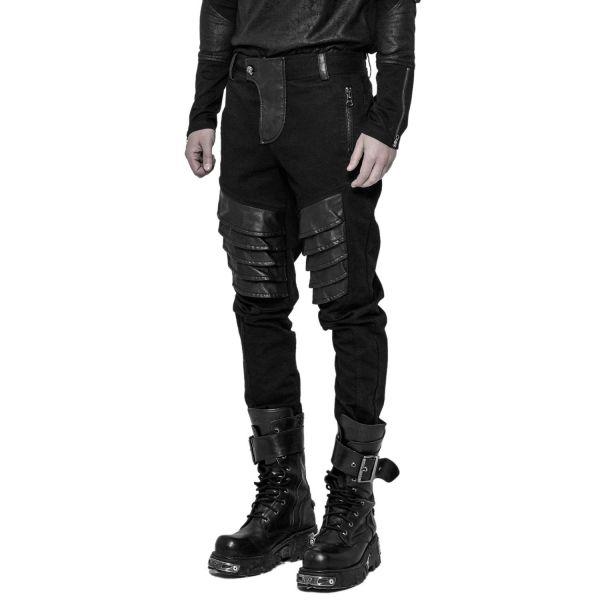 Industrial Style Hose mit Applikationen im Warrior Look