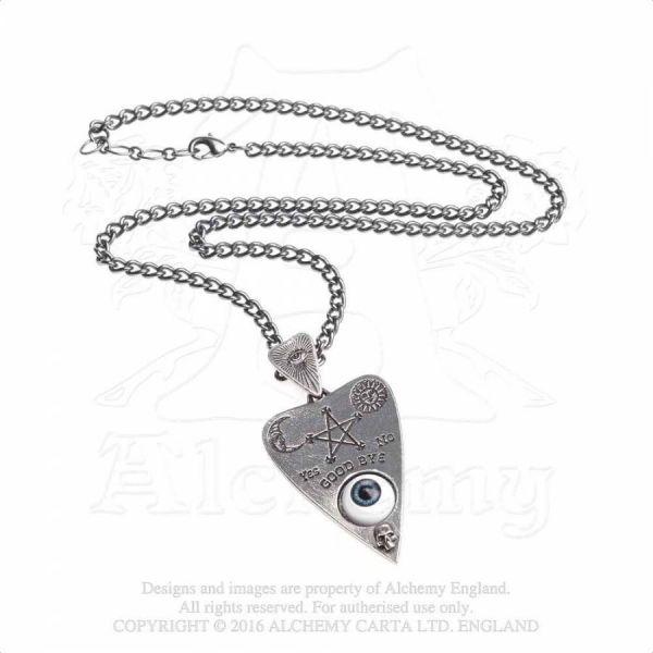 Halskette mit Anhänger - Planchette