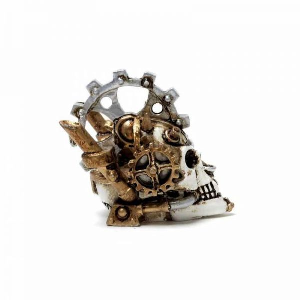 Steamhead Skull Miniatur Skulptur