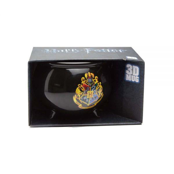 Harry Potter 3D Kesseltasse - Hogwarts Logo