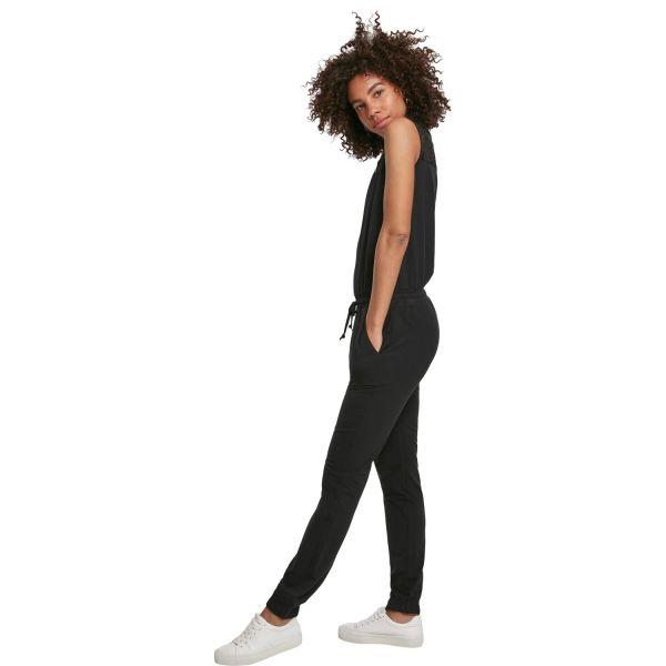 Jumpsuit im Street-Style mit Spitze