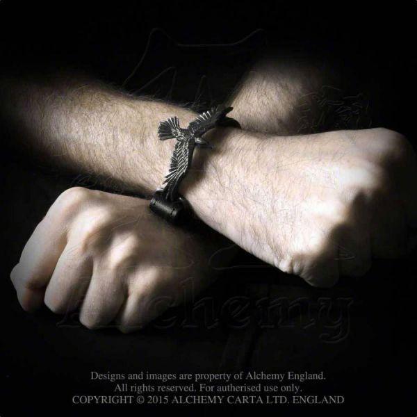 Lederarmband - Black Consort