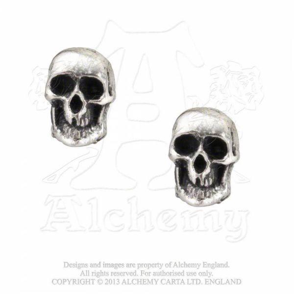 Totenschädel Ohrstecker - Death Studs