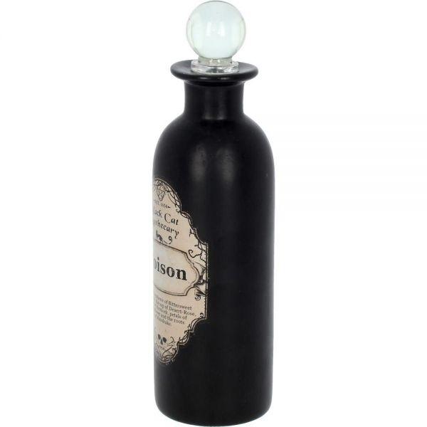 Alchemist Apotheker Flasche schwarz - Black Magic