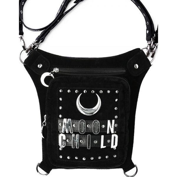 Crossover Holster Bag mit Moon Child Schriftzug