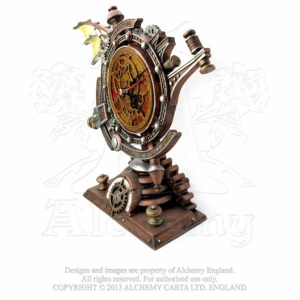 Steampunk Tischuhr - The Stormgrave Chronometer