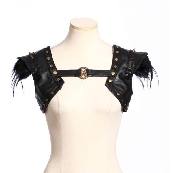 Gothic Schulterverzierungen im Bolero Warrior Look