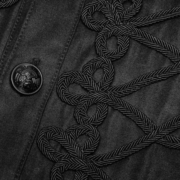 Viktorianisches Hemd mit Posament Verzierungen