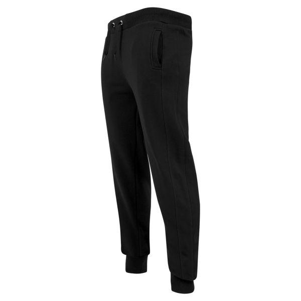 Schwarze Street Style Sweat Jogginghose