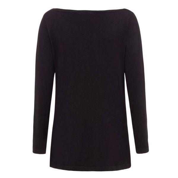 Off-Shoulder Shirt im Gothic Style mit No Evil Print