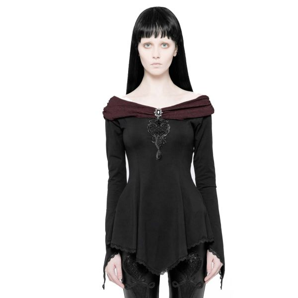 Viktorianisches Carmen Shirt mit Posament Verzierung