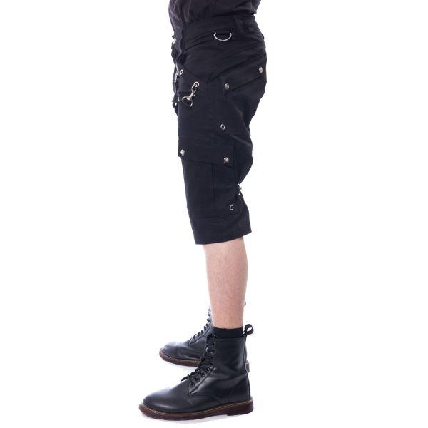 Bondage Shorts mit großen Beintaschen