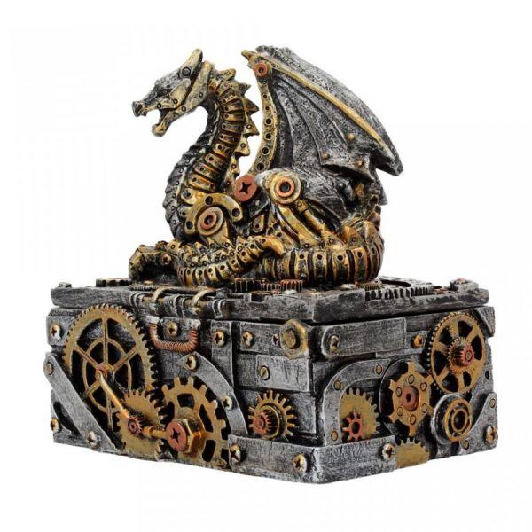 Steampunk Drachen Dose - Secrets of the Machine