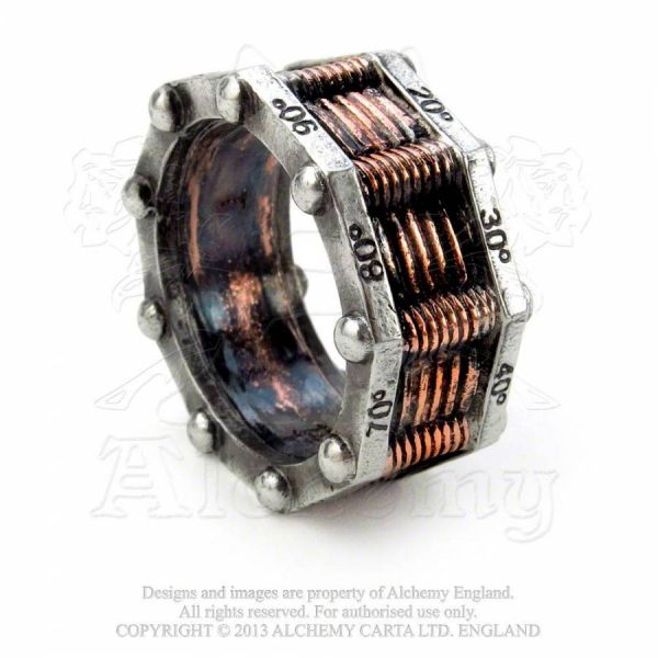 Steampunk Ring - Hi-Voltage Toric Generator