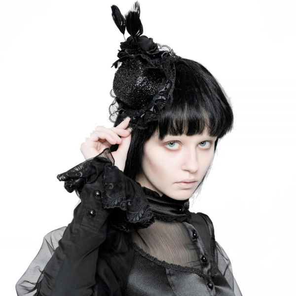 Gothic Lolita Fascinator in viktorianischem Look