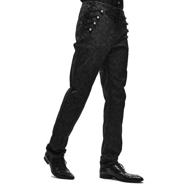 Viktorianische Brokat Hose mit Posamentverzierung