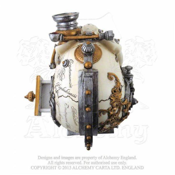 Steampunk Totenschädel Box - Darwins Steam Cerebrum