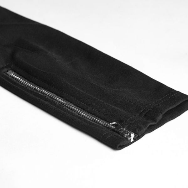 Treggings im Metal Style mit Zipper