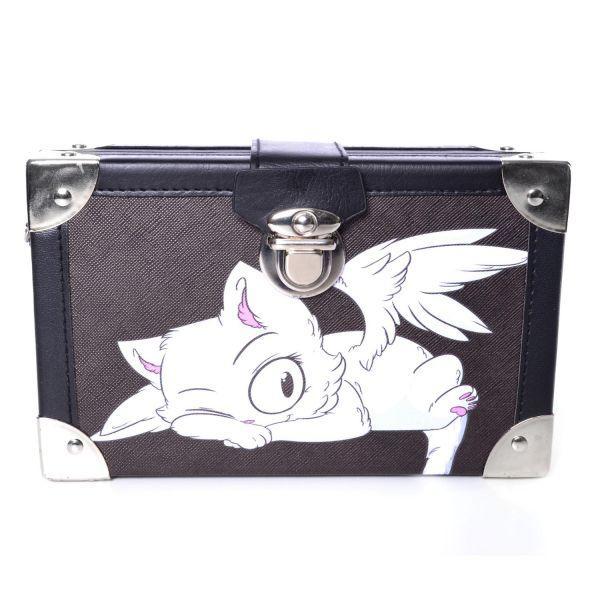 Cute Cat Koffer Tasche mit Metallkette
