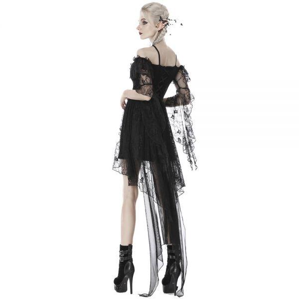 Off-Shoulder Minikleid im Carmen-Look mit Rüschen