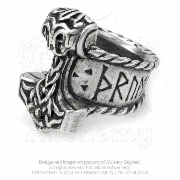 Ring - Thors Runehammer