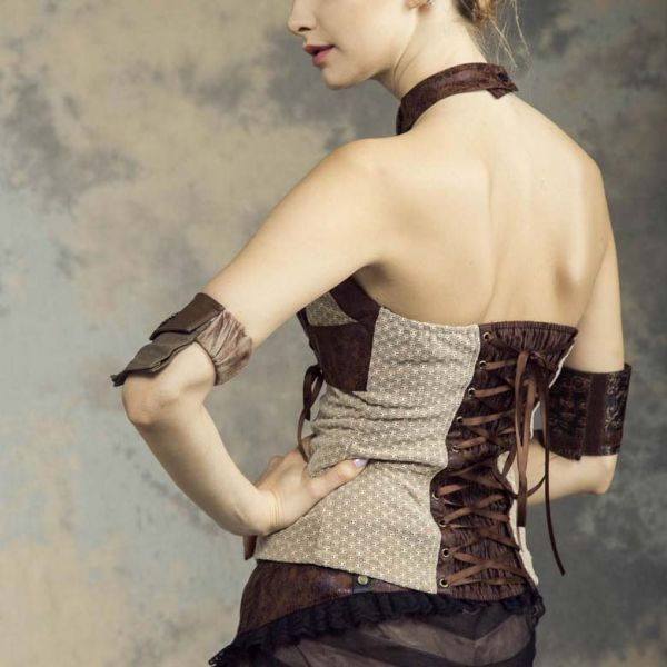Steampunk Top im Harness Look