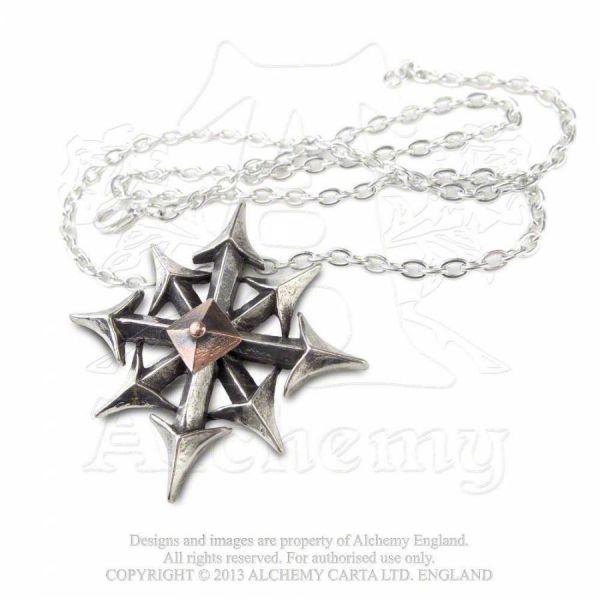 Halskette mit Anhänger - Chaostar