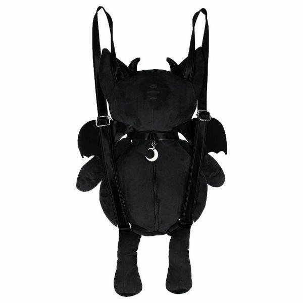Red Eye Devil Cat Plüsch Rucksack und Maskottchen