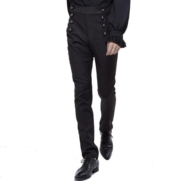 Elegante Hose im Brokat Look