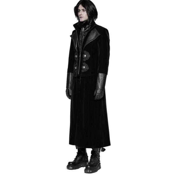 Aristokraten Samt Mantel und Jacke mit Reverskragen