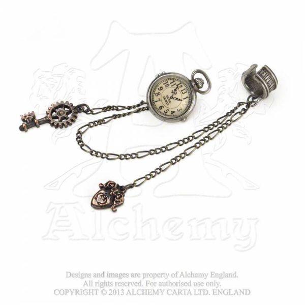 Ohrstecker mit Ketten - Uncle Alberts Timepiece