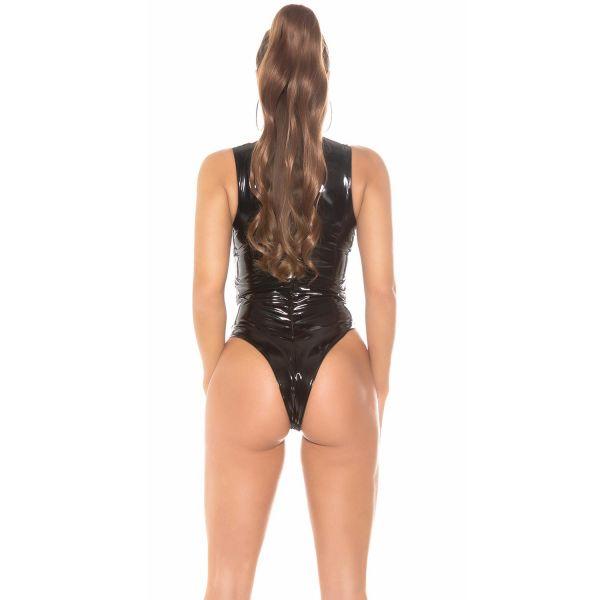 Po-freier Fetisch Latex-Look Body