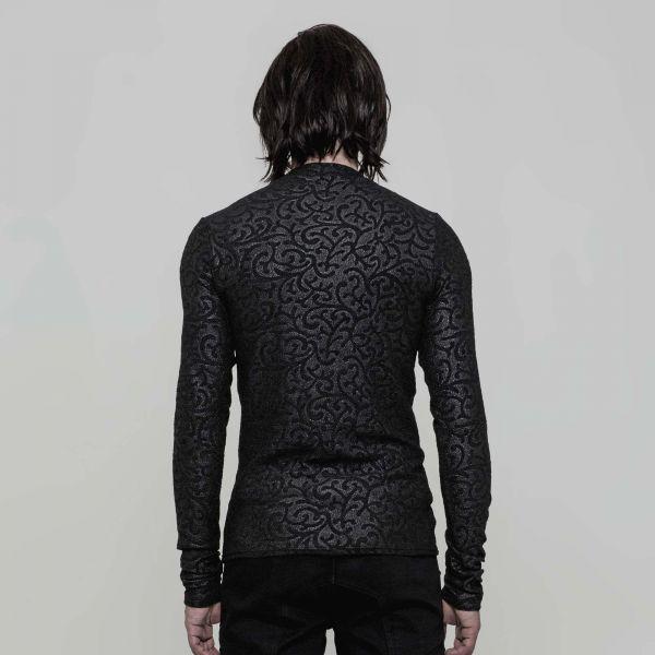 Shirt in viktorianischem Style mit Paisley Muster