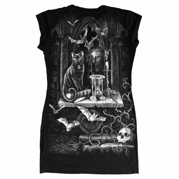 Black Witch Top im Dark Fantasy Look