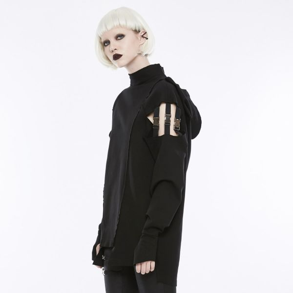 Punk Pullover mit Kapuze im Post Apocalyptic Style