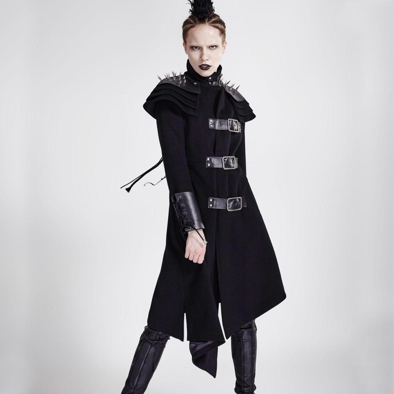 Damen Mantel Damen Asymmetrisch Stehkragen Mantel Offiziersmantel Asymmetrisch Stehkragen Mantel Asymmetrisch Offiziersmantel Damen EIW2DH9