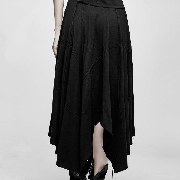 Gothic Zipfelkleid im Vintage Look