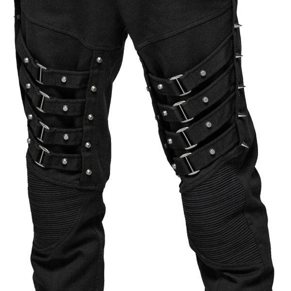 Industrial Hose mit Bein Akzentuierungen und Nieten