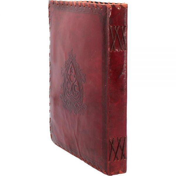 Geprägtes Spirit Board Notizbuch mit Leder Einband