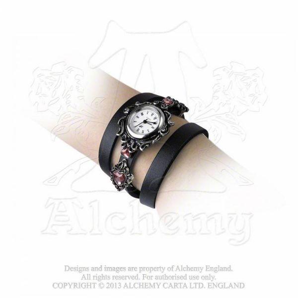 Gothic Armbanduhr mit Wickelarmband - Heartgelt