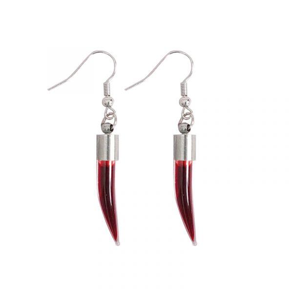 Red Horns Ohrhänger
