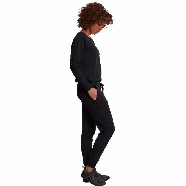 Casual Jumpsuit im Jogger Style mit Bootskragen