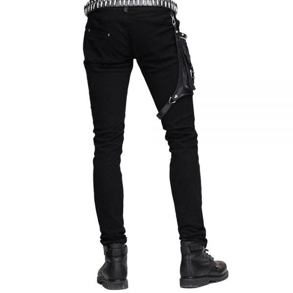 Hose mit abnehmbarer Tasche und Kunstleder